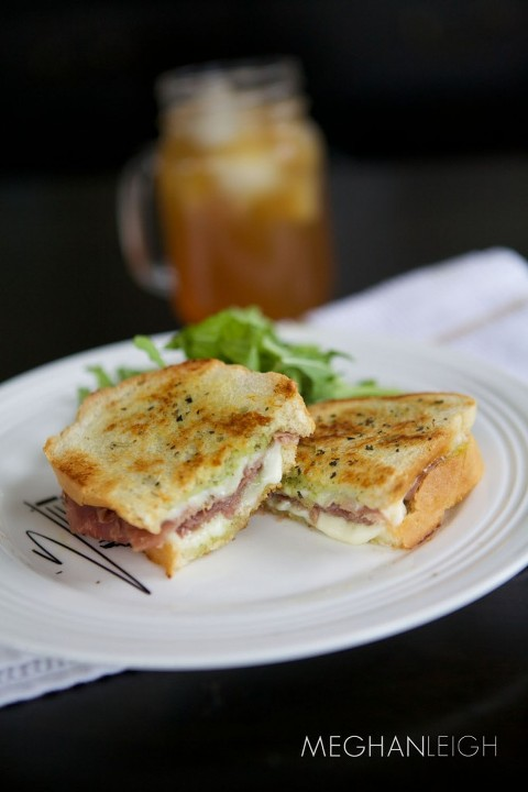 Tasty Tuesday- Prosciutto and Pesto Panini - Meghan Leigh ...